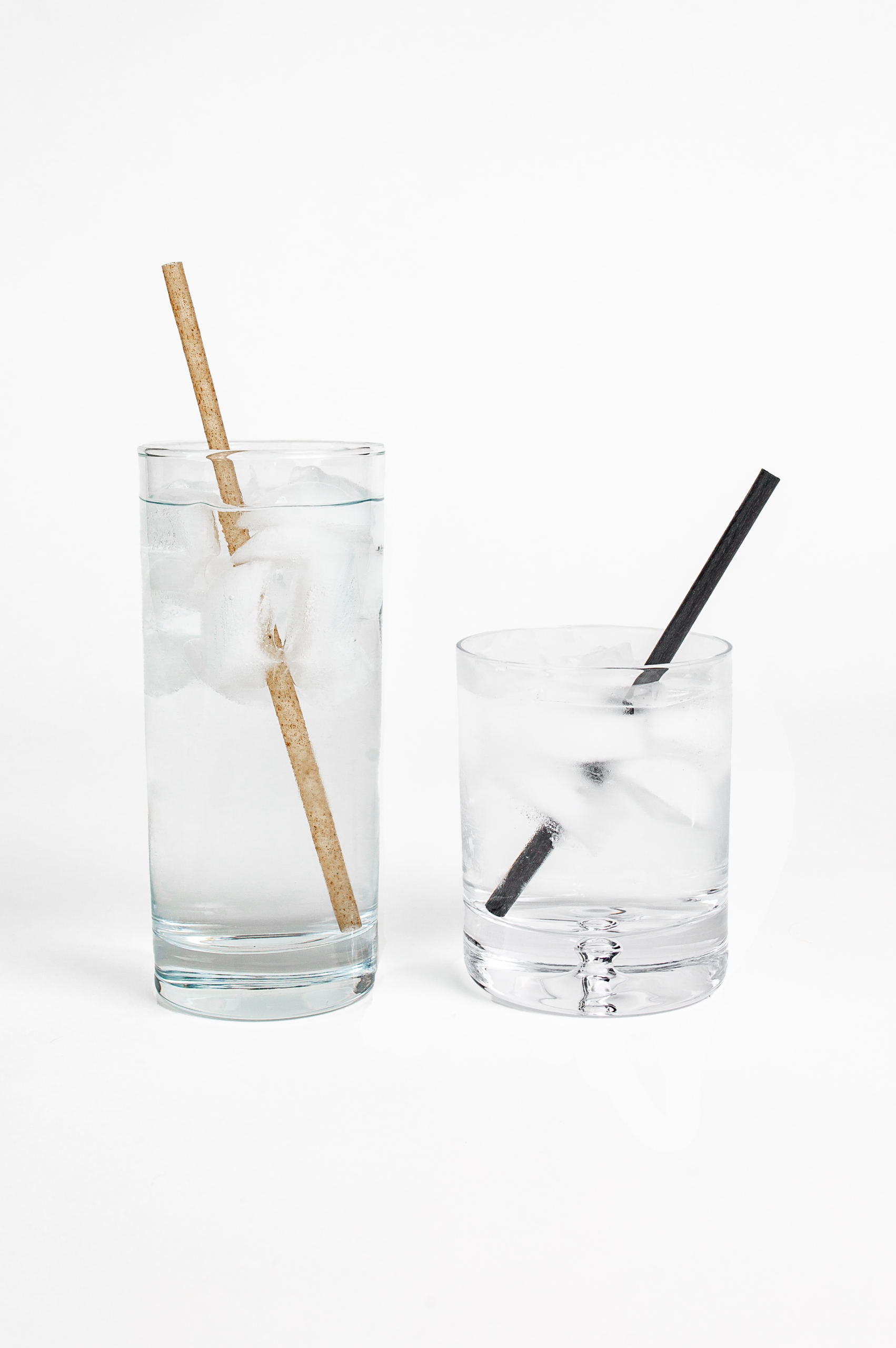 Agave Straws in Water